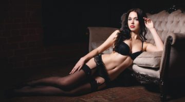 Beautiful girl in a sexy lingerie